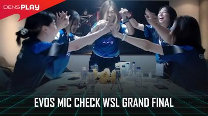 Evos Mic Check WSL Grand Final