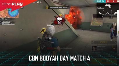 CBN BOOYAH DAY FREE FIRE MATCH 4