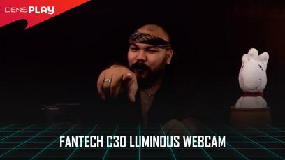 TECHNOKUN - FANTECH C30 LUMINOUS WEBCAM