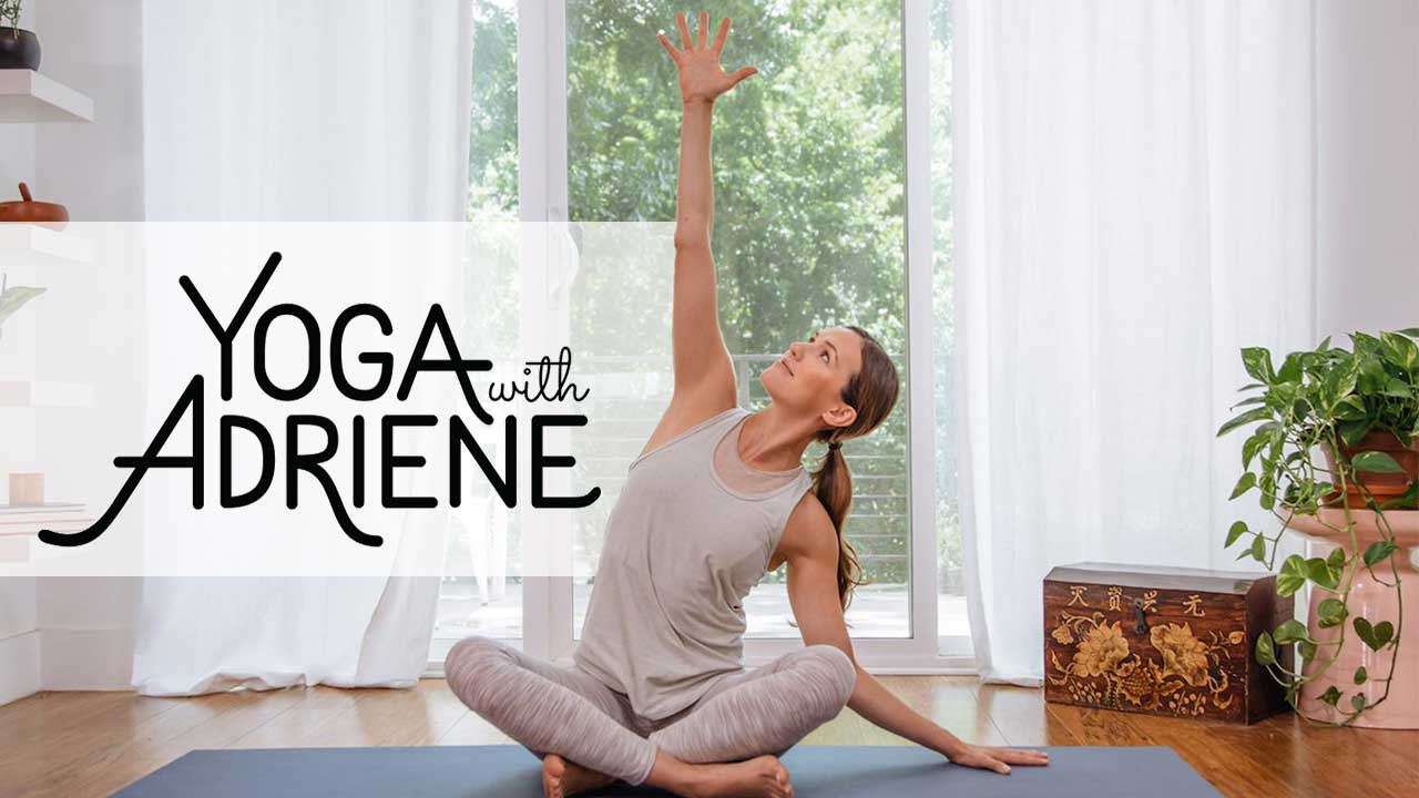 https://www.youtube.com/user/yogawithadriene