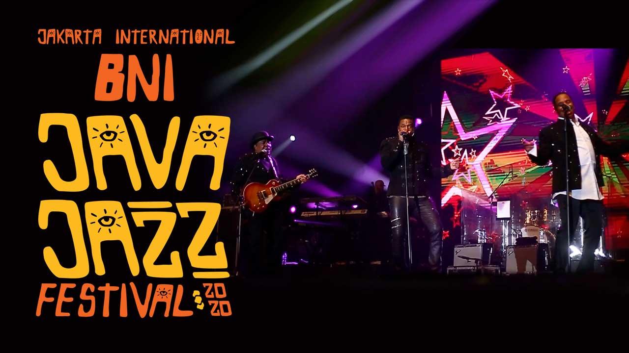 The Jacksons Di Hari Kedua Java Jazz 2020