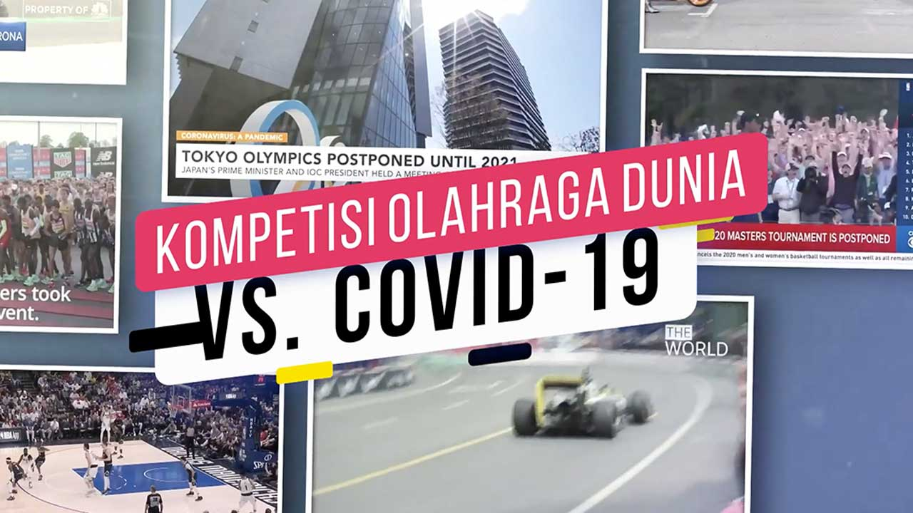 Kompetisi Olahraga Dunia vs. Covid-19