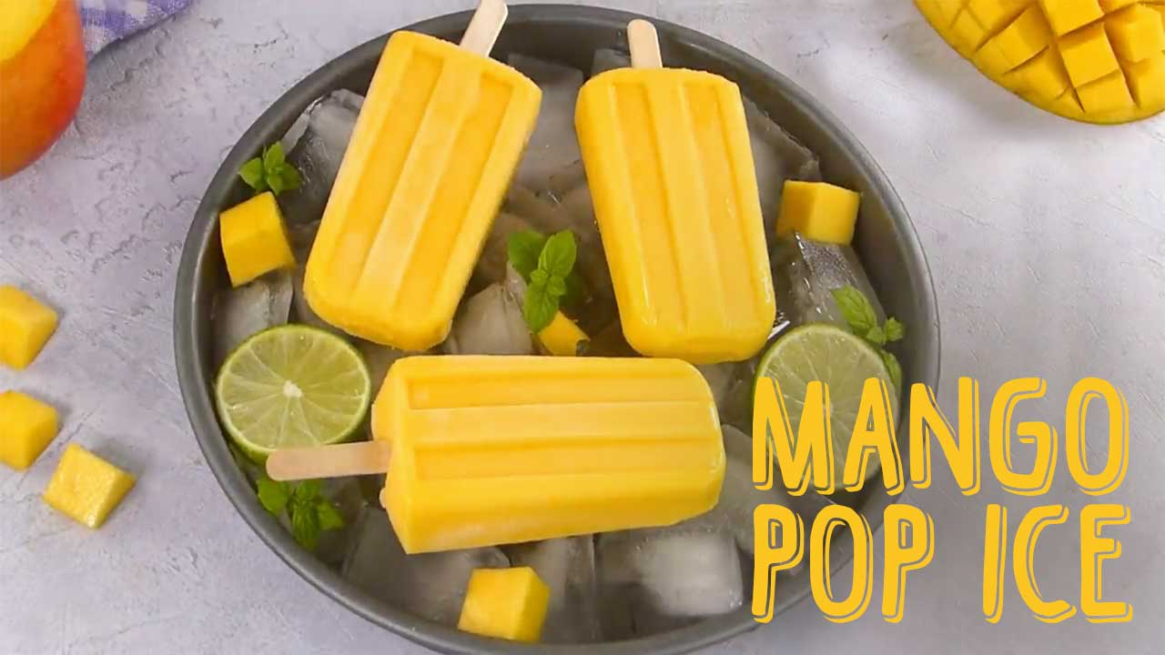 Mango Pop Ice