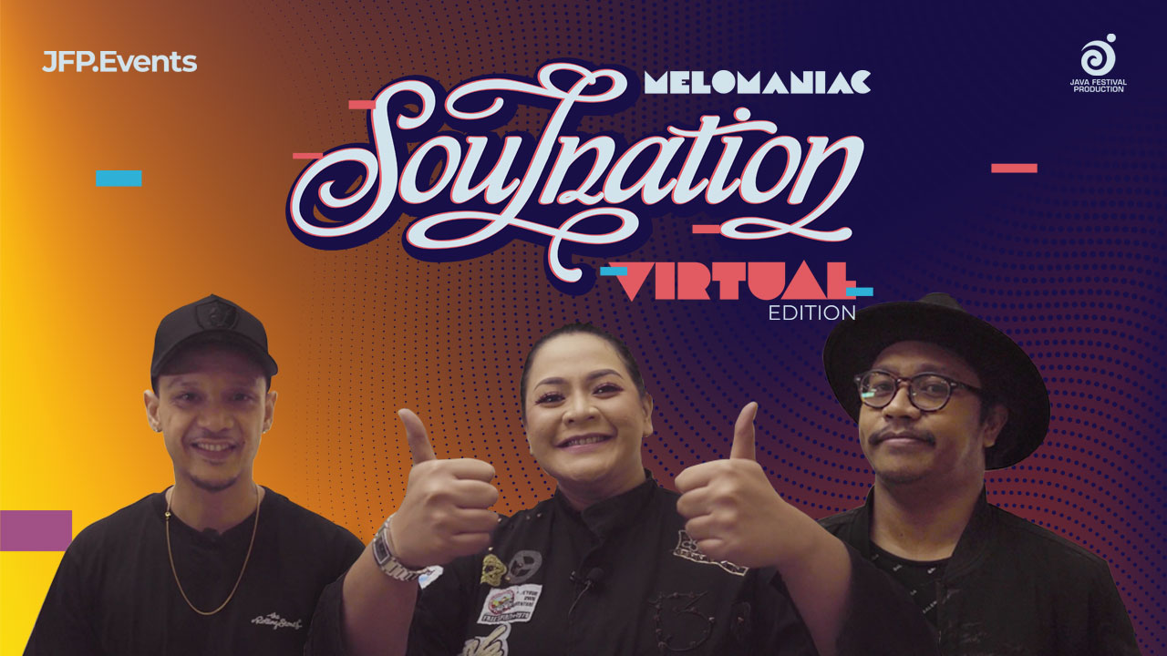 Behind The Stream Melomaniac: Soulnation Virtual Edition by Java Festival Production