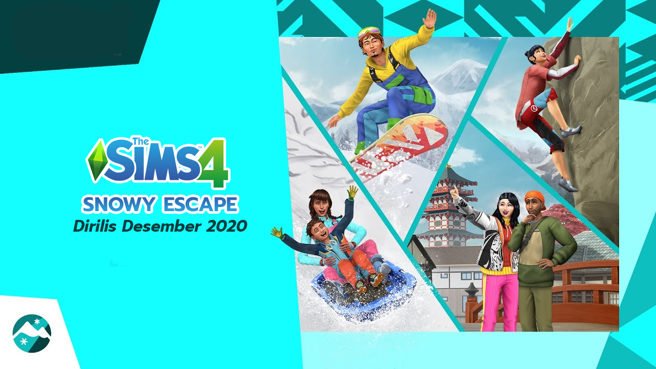 The Sims 4 Snowy Escape Dirilis Desember 2020