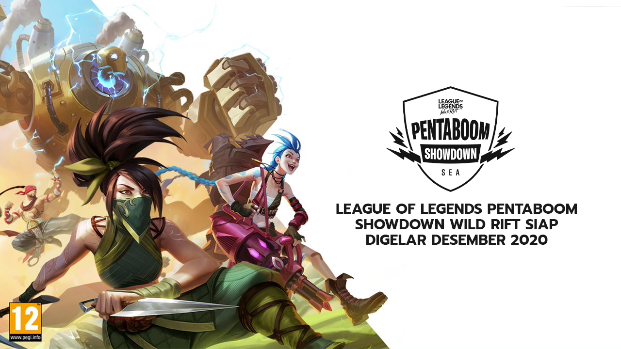 League Of Legends Pentaboom Showdown Wild Rift Siap Digelar Desember 2020