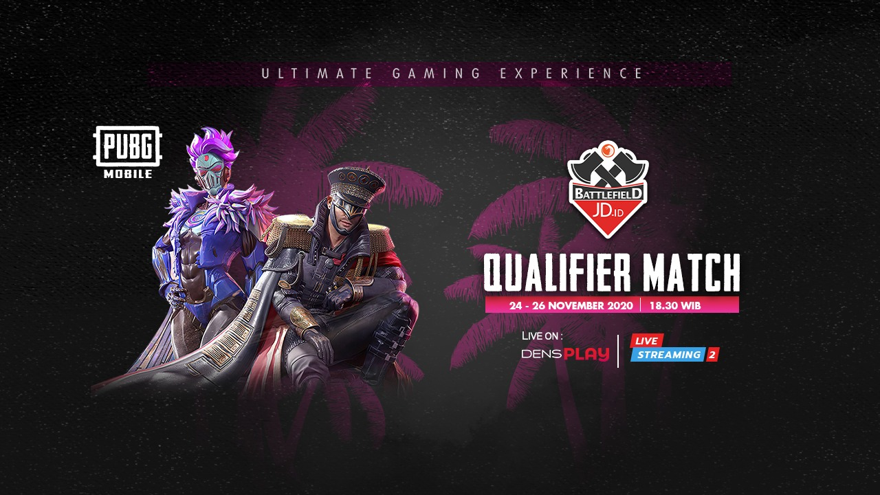 Live Streaming JD.ID Battlefield PUBG M Tournament