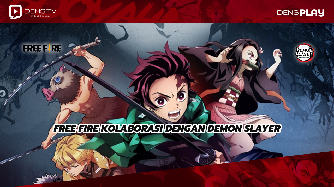 Free Fire Kolaborasi Dengan Demon Slayer