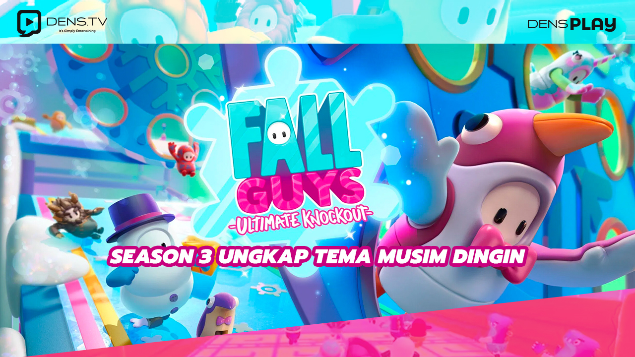 Game Fall Guys Season 3 Ungkap Tema Musim Dingin