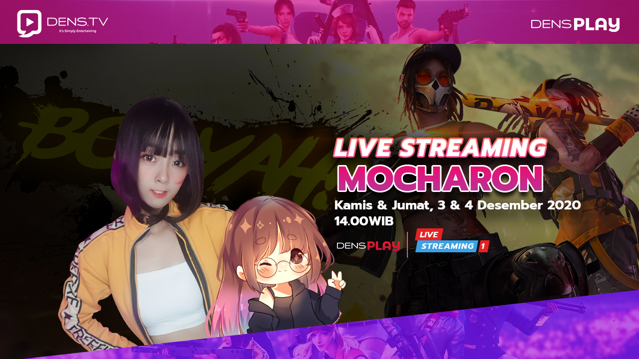Free Fire Live Streaming Mocharon