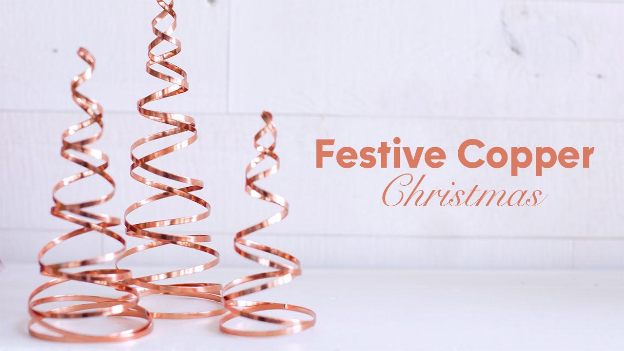 Festive Copper Christmas