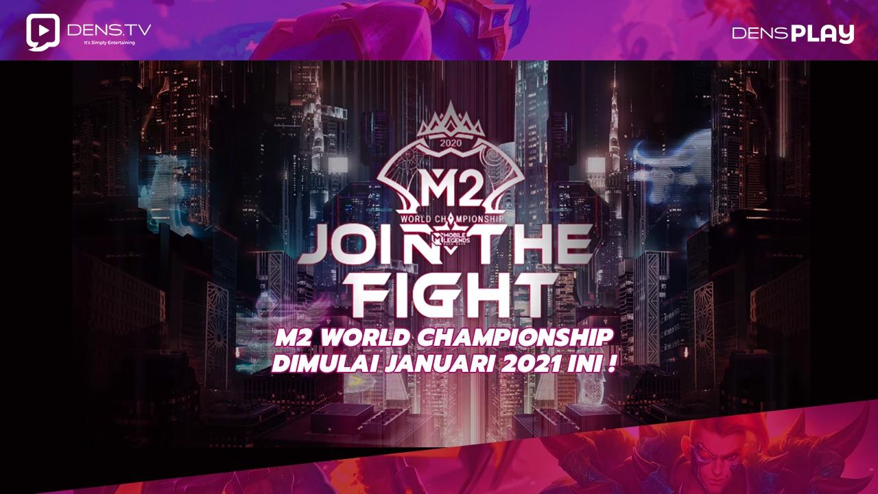M2 World Championship Dimulai Januari 2021 ini !