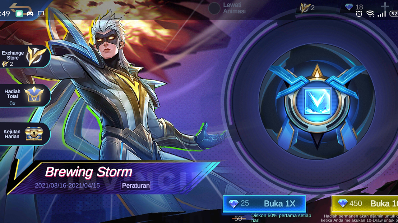 "Skin Hero Terbaru Mobile Legends: Bang Bang ""Vale"" Blizzard Storm"""