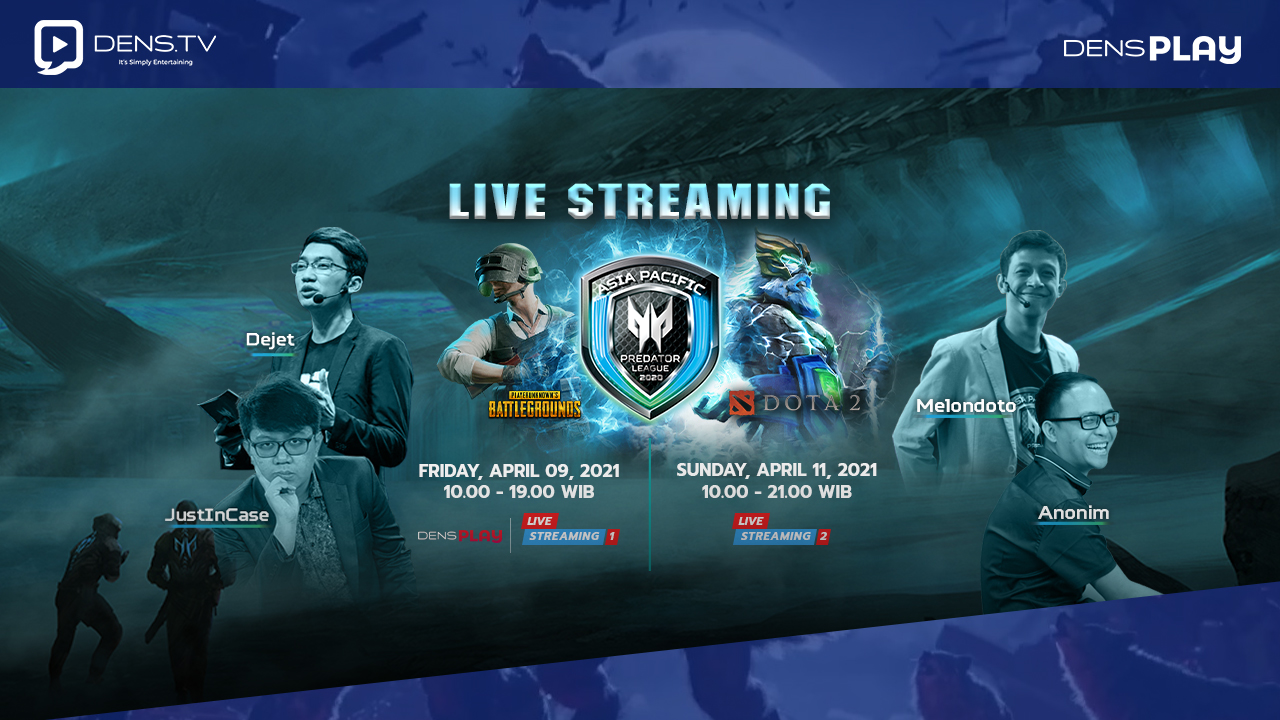 Saksikan Live Streaming APAC Predator League 2020/2021 Grand Final