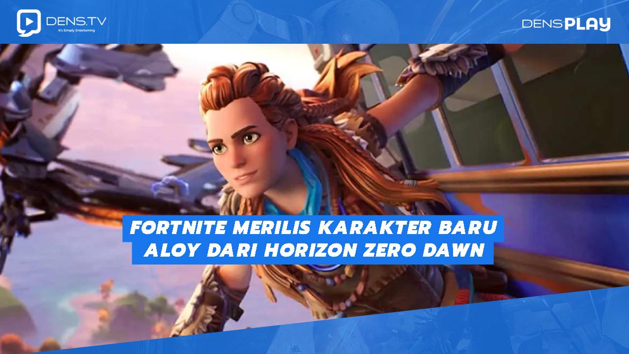 Fortnite Merilis Karakter Baru Aloy Dari Horizon Zero Dawn