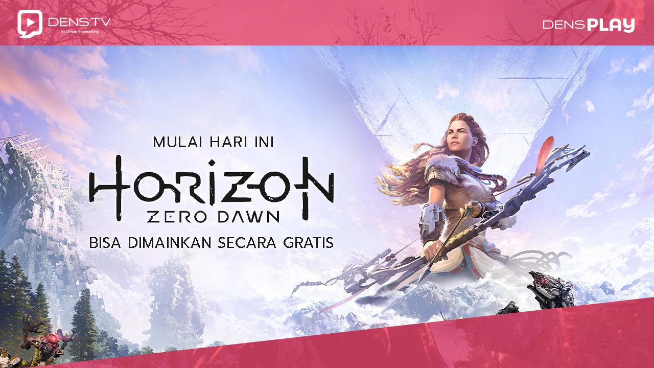 Mulai Hari Ini Horizon Zero Dawn Bisa Dimainkan  Secara Gratis