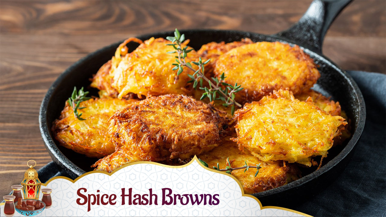 Spicy Hash Browns