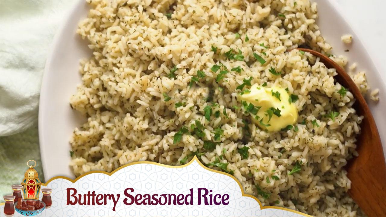 Buttery Seasoned Rice