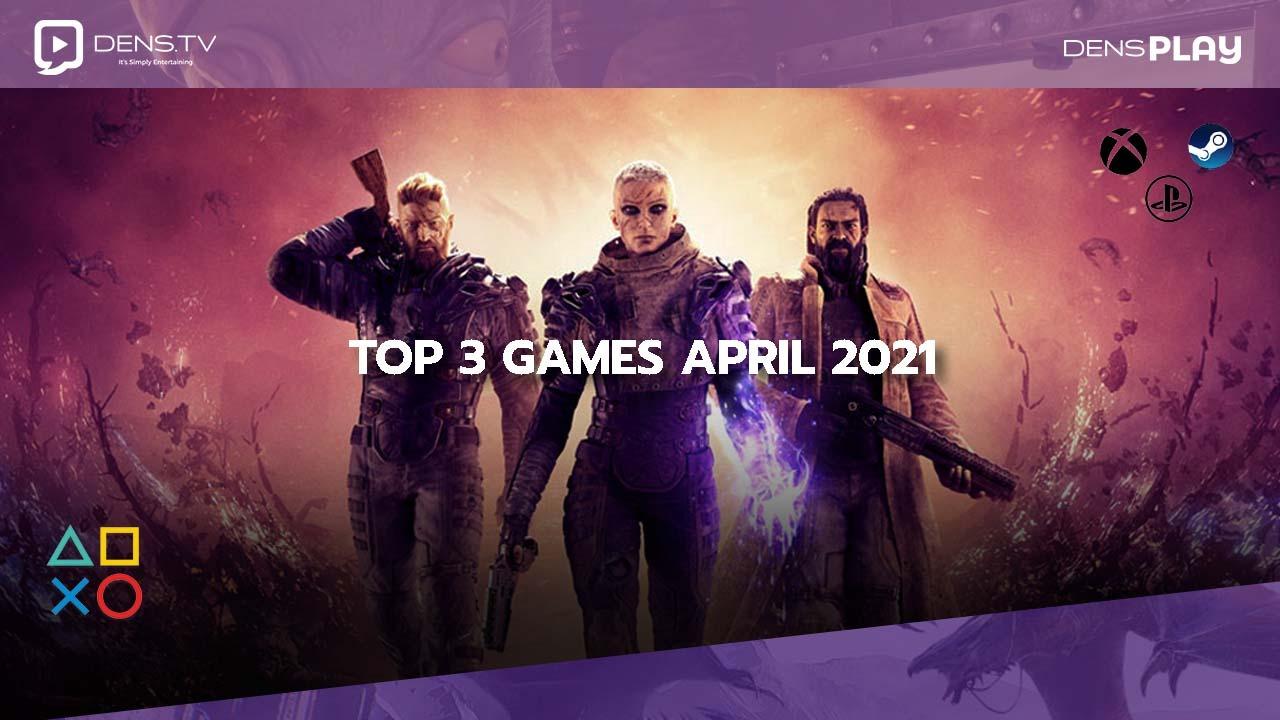 Top 3 Games April 2021 Bergenre Adventure
