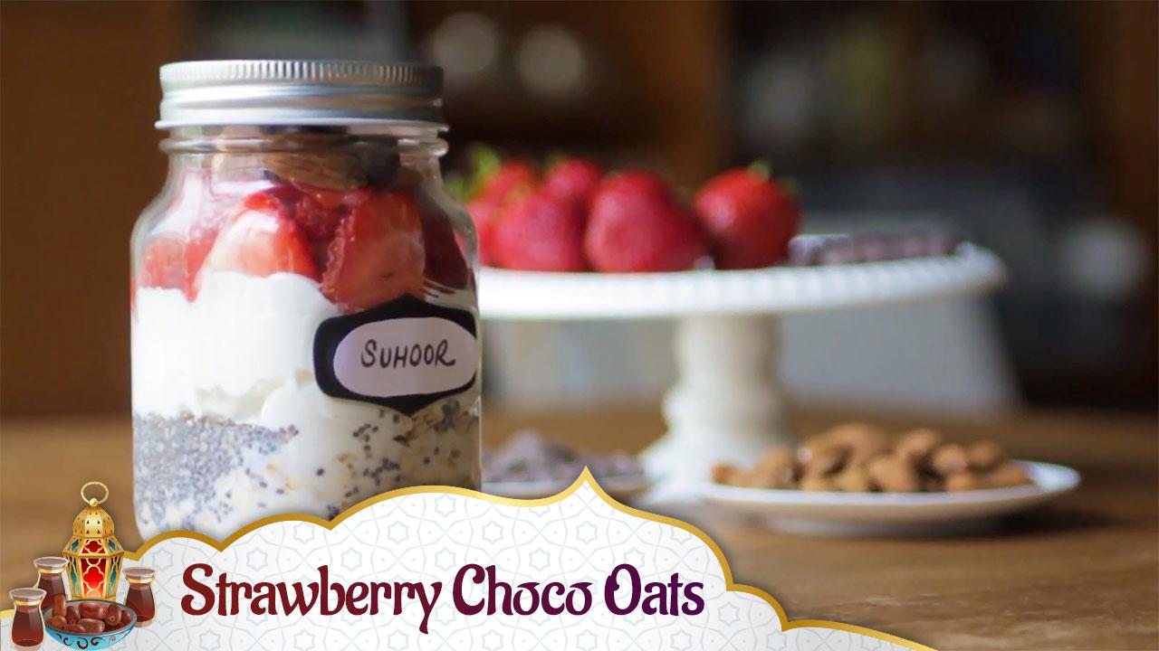 Strawberry Choco Oats