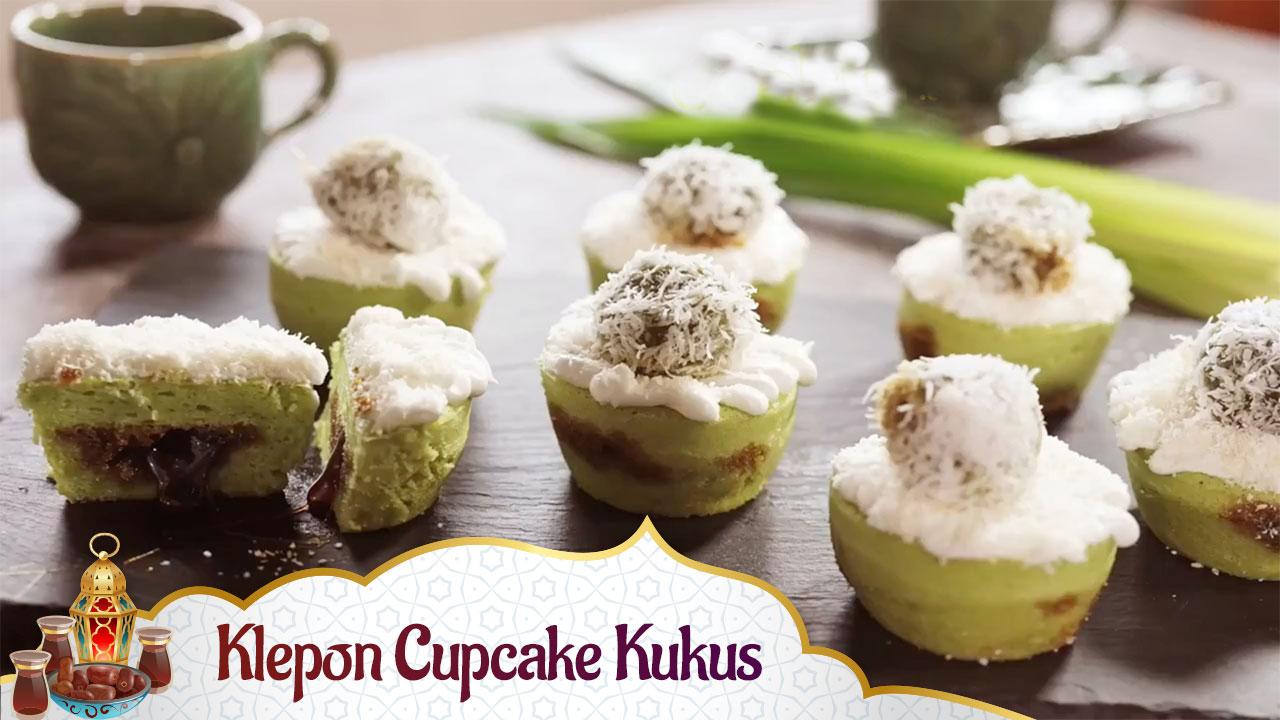 Klepon Cupcake Kukus