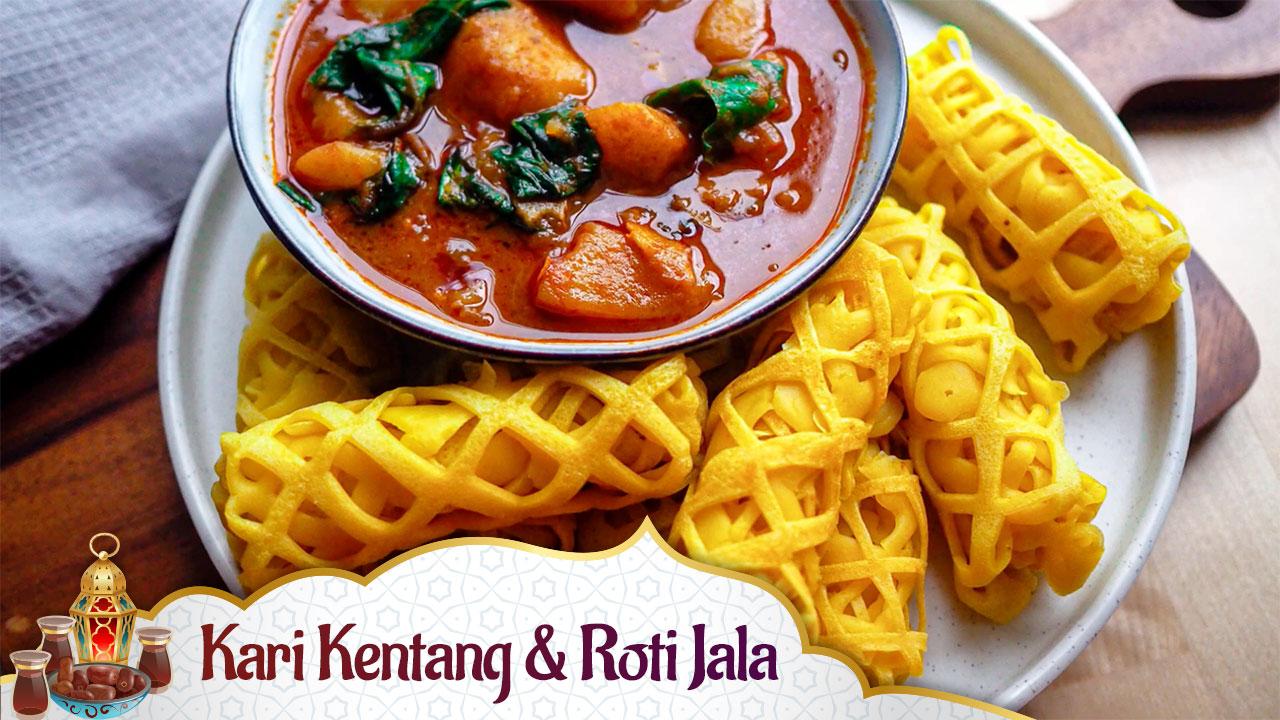 Kari Kentang & Roti Jala
