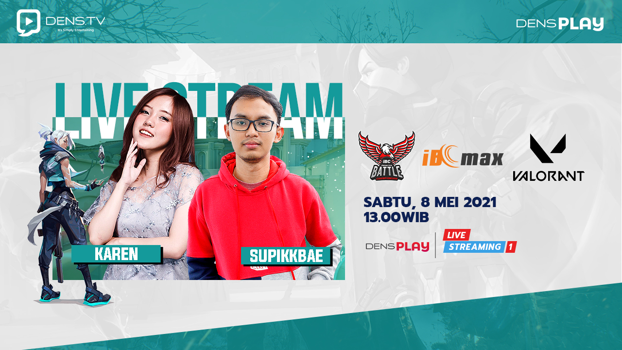 Saksikan Live Streaming Indonesia Battle Championship Valorant Series 5