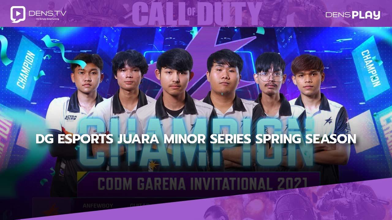 DG Esports Juara Call of Duty: Mobile Minor Series Spring Season 2021