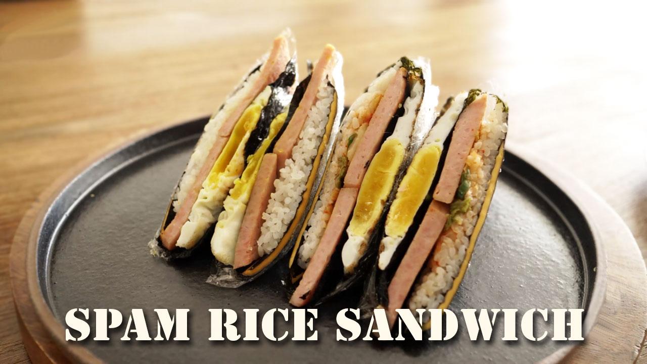 Spam Rice Sandwich