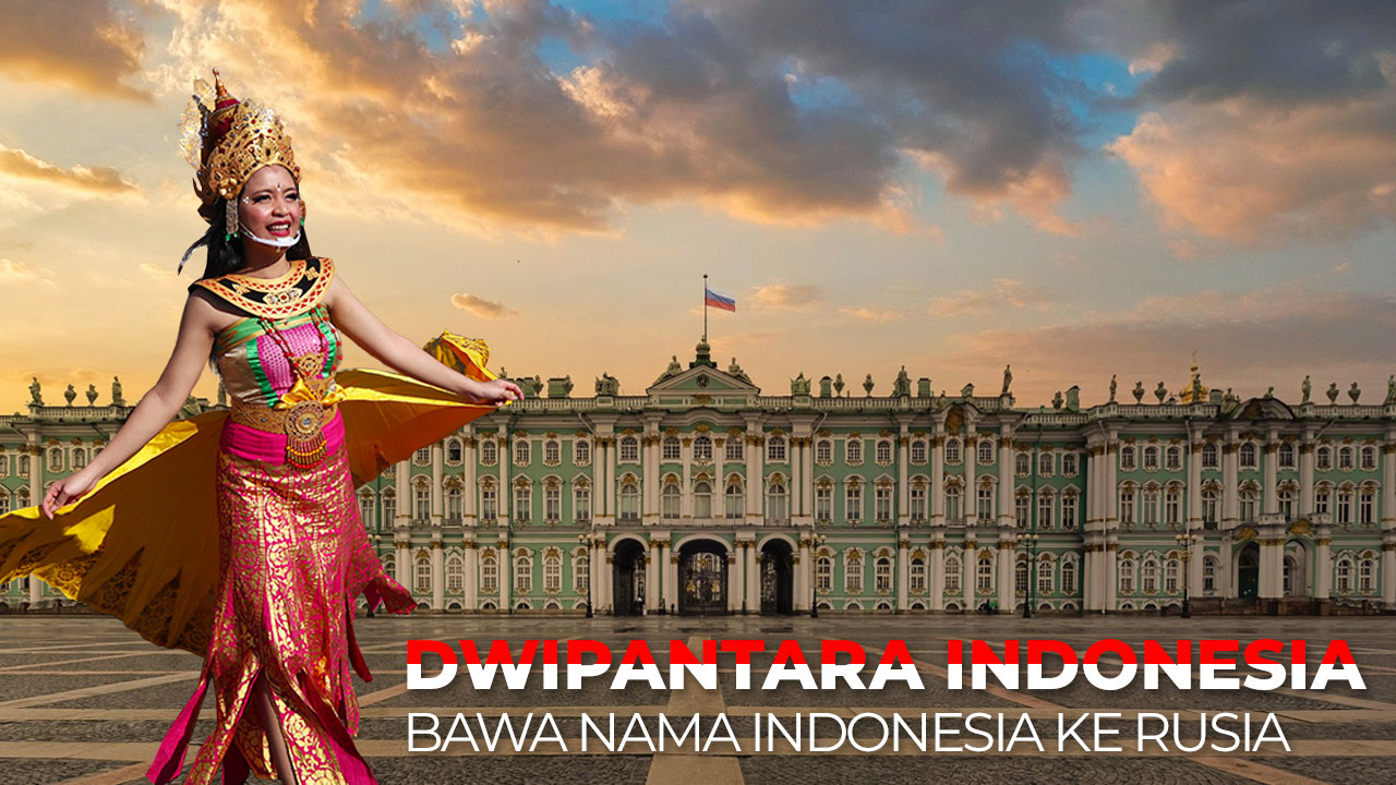 Dwipantara Indonesia bawa nama Indonesia ke Rusia