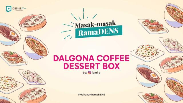 Dalgona Coffee Dessert Box