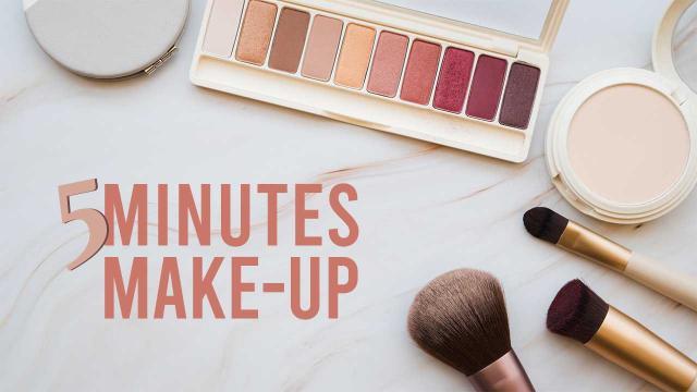 5 Minutes Make-Up