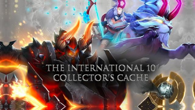 The International 10 Colllector's Cache Dirilis