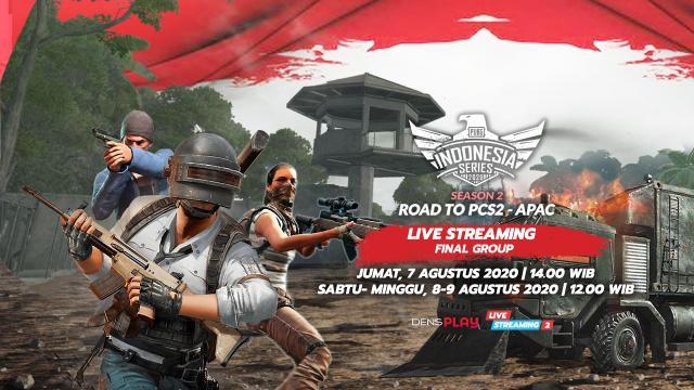 Saksikan Live Streaming PUBG Indonesia Series Season 2 - Final Group