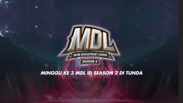 Minggu Ke 3 MPL ID Season 2 Di Tunda