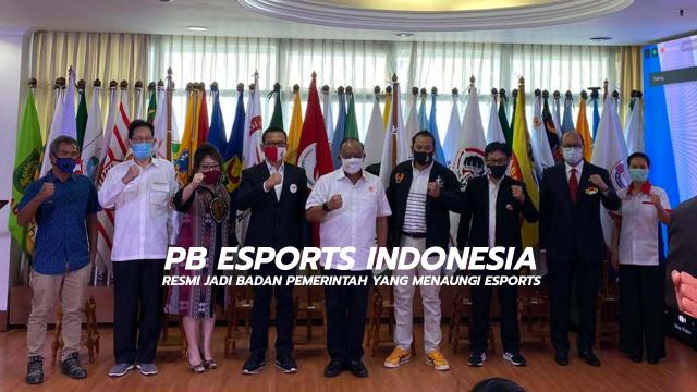 PB Esports Indonesia Resmi Jadi Badan Pemerintah Yang Naungi Esports