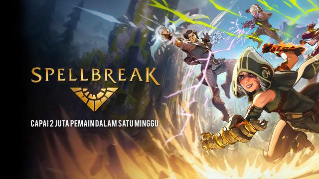Spellbreak Capai 2 Juta Pemain Dalam Satu Minggu