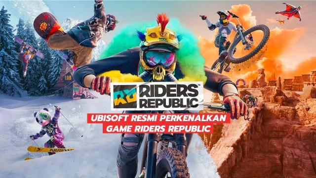 Ubisoft Resmi Perkenalkan Game Riders Republic