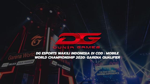 DG Esports Wakili Indonesia Di COD: Mobile World Championship 2020: Garena Qualifier