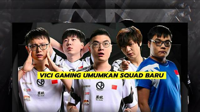 Vici Gaming Umumkan Squad Baru