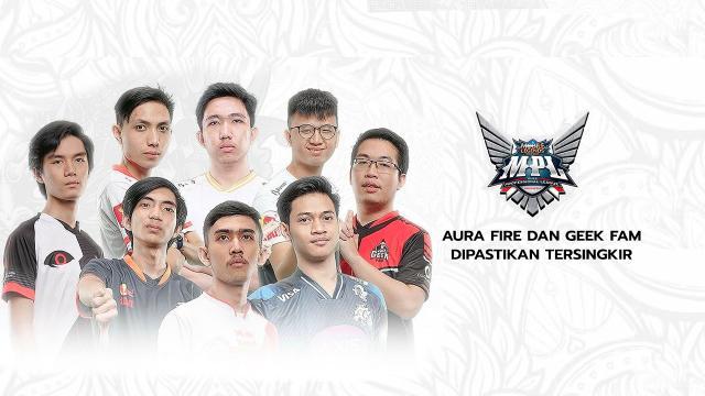 Update MPL ID Season 6 Week 6 Aura Fire Dan Geek Fam ID Dipastikan Tersingkir