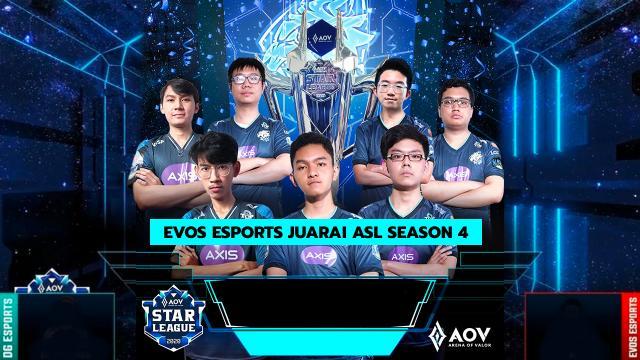 Evos Esports Juarai ASL Season 4