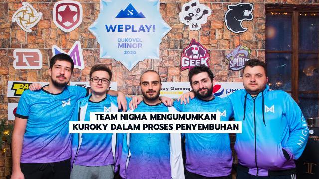 Team Nigma Mengumumkan Kuroky Dalam Proses Penyembuhan