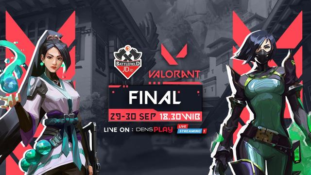JD.ID Valorant Tournament Final Day