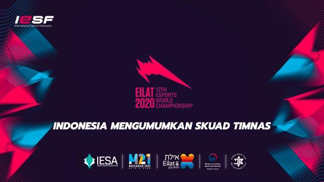 IESF World Championship 2020 Indonesia Mengumumkan Skuad Timnas