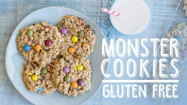 Monster Cookies - Gluten Free