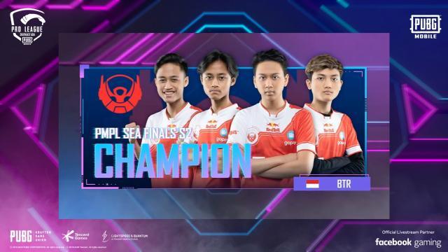 Bigetron RA Juara Turnamen PMPL SEA Season 2