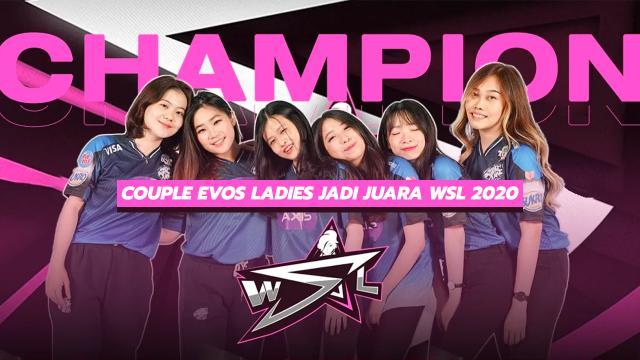 Evos Ladies Jadi Juara WSL 2020