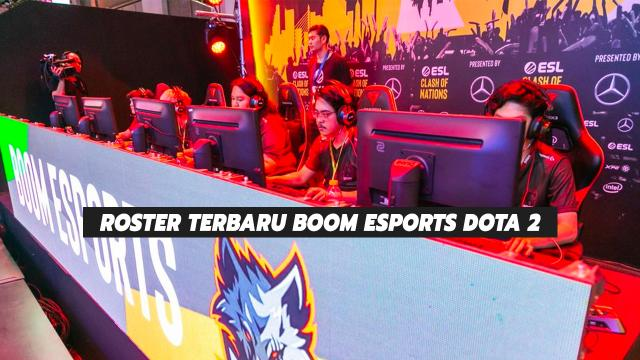 Roster Terbaru BOOM Esports Dota 2