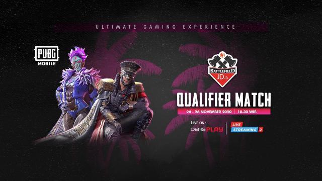Live Streaming JD.ID Battlefield PUBG M Tournament